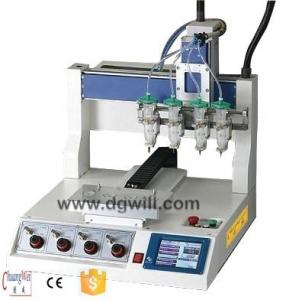China Electronic Appliances Production Line Pcb Dispenser Chip Binding on sale
