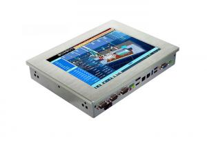 China Stainless Steel Rugged Touch Panel PC High Strength And Hardened on sale