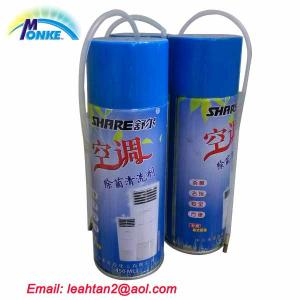 China environmental friendly air conditioner cleaner spray on sale