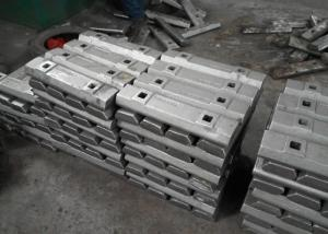 Quality 2 Tons Mining Industry Metal Casting Process Wedge Bars Hardness HRC35-41 for sale