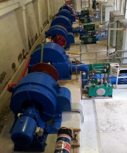 500KW~1000KW Small Pelton Hydro Turbine Synchronous Generator for