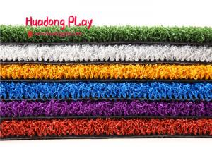 China Professional Realistic Artificial Grass , Residential Artificial Turf Strong Color Fastness on sale