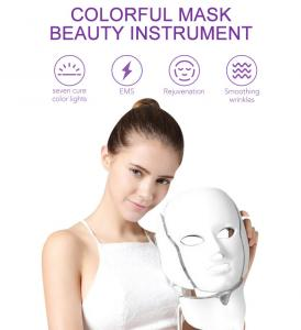 China Facial Neck Led Protect Mask FCC Laser Beauty Machine on sale
