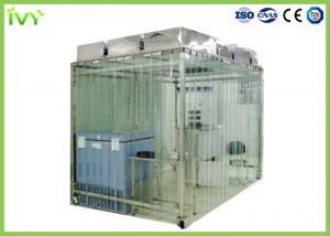 China Laboratory Clean Room Booth Anti Static Dustproof Curtain Wall Material on sale