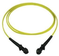 China 9 / 125 Single Mode Fiber Optic Patch Cord MTRJ Series Long Life Span on sale