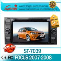 True Color Ford DVD GPS Bluetooth MP3 FM Radio for Focus 2007 / 2008 ST-7039