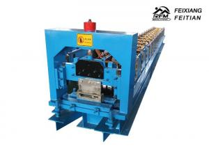 China Steel Door Frame Making Machines , Metal Frame Rolling Shutter Roll Forming Machine on sale
