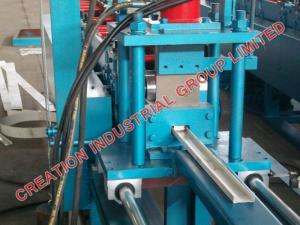 China Drywall Steel Studs / Framing Panel Cold Roll Forming Machine With 3 Tons Decoiler on sale