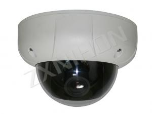 China Color CCD CCTV Vandalproof Dome Camera With Electronic Zoom Lens on sale