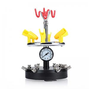 China Stainless Steel Tattoo Accessories Airbrush Holder Stand Clamp On Table Mounted on sale