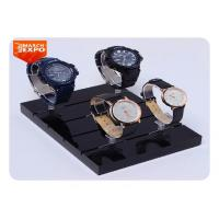 China Custom Fashion Acrylic Watch Display Stand Desktop Black Color TDS-018 on sale