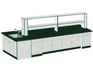 China Laboratory Central Bench on sale