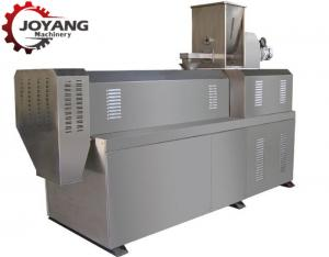 China Small Snacks Making Machine , Twin Screw Extruder Production Line Easy Operation on sale