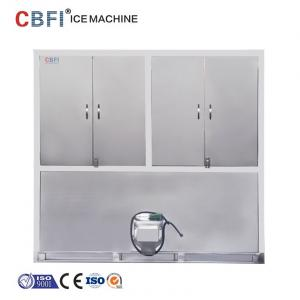 China Air Cooling Ice Cube Maker Machine With Germany Bitzer Compressor on sale