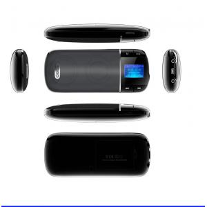 China Outdoor LED Lyrics Function Portable Speakers With SD Card / Speaker With FM Radio For Iphone supplier