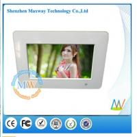 7 inch digital picture frame with MP3 music video picture playback functions