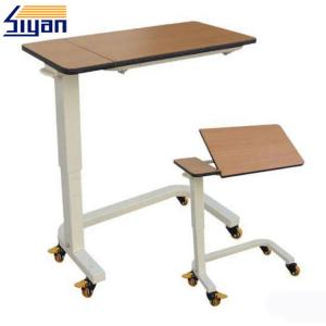 China Hospital Medical Adjustable Table Top MDF Boards With Wooden Texture on sale