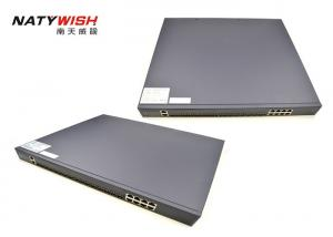 China Space Saving 10G Gigabit Passive Optical Network OLT Supporting Dual Power Supply on sale
