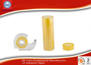 China Water - based Acrylic Adhesive BOPP Stationery Tape For School / Office on sale