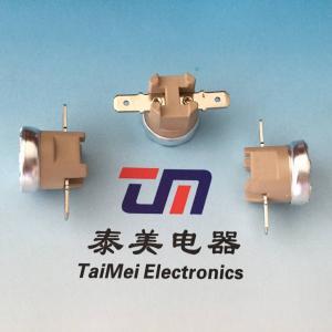 China Termostatos Ksd301 16A 250V Bimetal Thermal Switch Radiator Fan Thermal Fuses on sale
