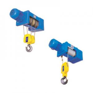 China Double Girder Low-vibration Foot Mounted Wire Rope Hoists SH Series on sale