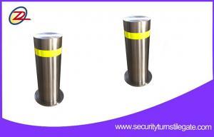 China Security hydraulic retractable bollards , Traffic automatic rising bollards on sale