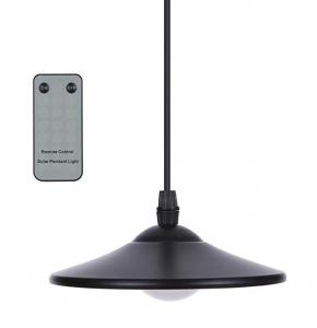 China Solar Pendant Light - 2W Outdoor Hanging Solar Powered LED Lights 150lm Waterproof Pendant Lamp with Remote Control & Pu on sale