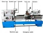 China Diameter 500mm 6250 Horizontal Gap-bed Grinding Lathe Machine 7.5KW wholesale