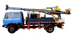 China Full Hydraulic Driving Drilling Equipment SDC-2A Used For Diamond Bit Drilling Mobile Drilling Rigs on sale