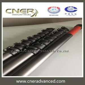 China High modular carbon fiber water fed pole with clamps on sale