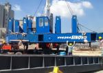 Blue Color VY120A construction Hydraulic Static Pile Driver high - efficiency