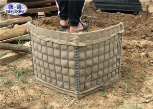 China Hot Dipped Galvanized Miltary Gabion Box SX 2 For Safeguard Equipment on sale