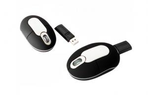 China 800 dpi USB Mini Wireless Mouse Accessories For Laptop Computers / Tablet PC on sale