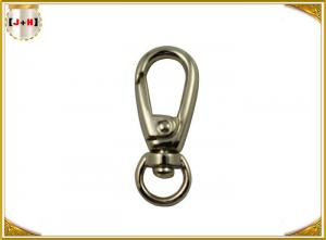 China Durable Nickle Color O Ring Swivel Bolt Snap Hooks , 10mm Swivel Eye Snap Hook on sale