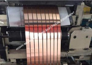 China Reactor And Inductor Thin Copper Tape , Mirror Surface Copper Craft Foil on sale