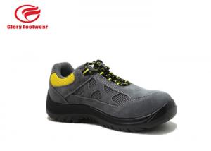 China Low Top Breathable Ultra Lightweight Safety Trainers For Engineers Rubber Sole on sale
