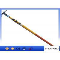 China 220KV High Voltage Earthing Device Fiberglass Telescopic Hot Stick High Strength on sale