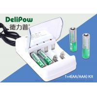 2 AA 1300mah Ni Mh Rechargeable Batteries , 2 AAA1000mAh Aaa Battery Charger
