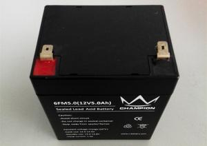China 5ah Deep Cycle Lead Acid Battery 12v / Lead Acid Rechargeable Batteries on sale
