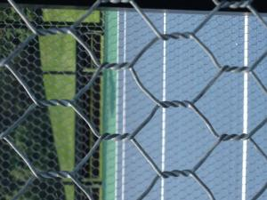 China 16 Gauge Galvanized Woven Wire Mesh Fencing For Building Paddle / Tennis Courts on sale