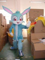 Quality traje cosplay dos desenhos animados brancos da mascote dos coelhos for sale