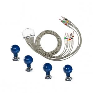 White Resting Portable Ecg Monitor With iPad 12-lead Ecg System for