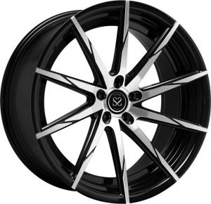 China 20 inch modified 5*130 one piece forged aluminum alloy wheel rim on sale