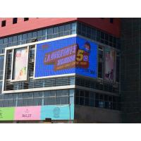China P10 Led Advertising Display Board 320*320mm DIP3.8 V/40A Supply Right Angle Screen on sale