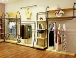 Durable Lady'S Clothing Display Racks Shop Clothes Rack Fashionable Design