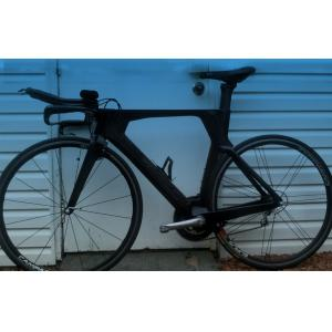 Quality Integrated Carbon Stem Carbon Time Trial Bike Frame Fast , Easy Control for sale