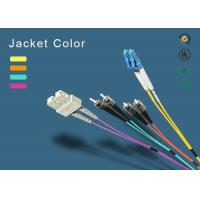 SC fiber patch cord 100% insertion loss less