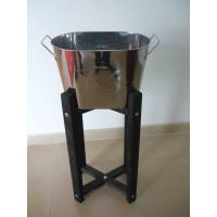 China LFurniture Wooden Frame Metal Ice Bucket-10