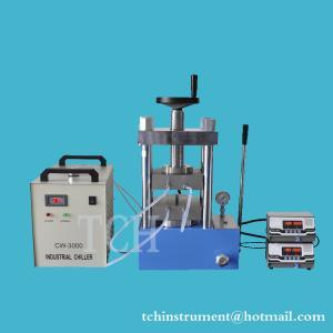 China laboratory dual platens heating laboratory hot press machine upto 300C , 60T Hydraulic Lamination Hot Press on sale