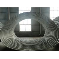 Horseshoe shape corrugated steel pipe
